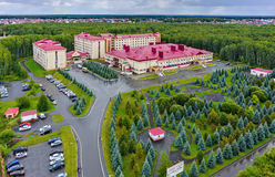 Tyumen regional clinical hospital, Russia Stock Image