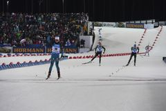 IX final stage of the Biathlon World Cup IBU BMW 24. 03. 2018
