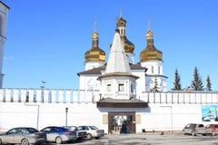 Tyumen ` S Männer der Heiligen Dreifaltigkeit Kloster Russe Sibirien stockfoto