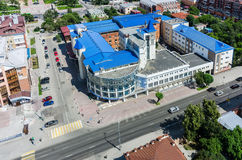 Tyumen state university - building No. 11 and Royalty Free Stock Image