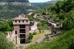 Tzarevetz fortress in Veliko Tarnovo, Bulgaria Stock Photos
