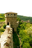 Tzarevetz fortress in Veliko Tarnovo, Bulgaria stock photo