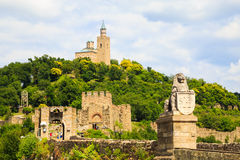 Tzarevetz fortress at Veliko Turnovo, Bulgaria Royalty Free Stock Image
