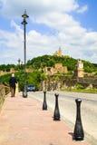 Tzarevetz fortress at Veliko Turnovo, Bulgaria. Stock Photos