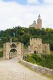 Tzarevetz fortress at Veliko Turnovo, Bulgaria. Royalty Free Stock Photo