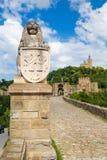 Tzarevetz fortress at Veliko Turnovo, Bulgaria. Royalty Free Stock Image