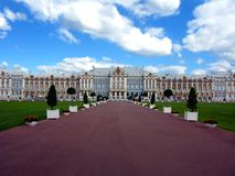 Tzarskoe Selo Catherine Palace Stock Photo