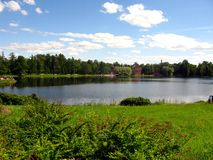 Tzarskoe Selo Lake Royalty Free Stock Photos