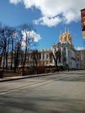 Tzarskoe Selo. In Pushkin near Saint Petesburg, Russia royalty free stock images