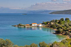 Tzasteni, Pelio, Greece Royalty Free Stock Photo
