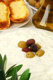 tzatziki чеснока хлеба Стоковые Фотографии RF
