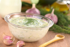 Tzatziki Royalty Free Stock Images