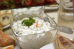 Tzatziki, Cacik Royalty Free Stock Photo