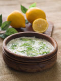 Tzatziki dip Royalty Free Stock Photography
