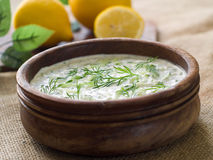 Tzatziki dip Royalty Free Stock Photos