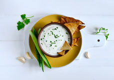 Tzatziki dip Royalty Free Stock Images