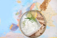 Tzatziki from Greece Royalty Free Stock Images