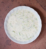 Tzatziki Yogurt Sauce Stock Photo