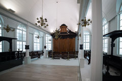 Tzedek ve-Shalom Synagogue, Suriname Stock Photo