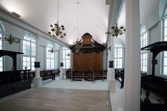 Tzedek ve-Shalom Synagogue, Suriname Stock Photo