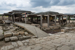 Tzipori archeological site Royalty Free Stock Images