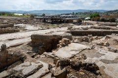 Tzipori archeological site Stock Image