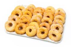Tzipulas, зажаренные donuts Сардинии Стоковое Фото