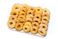 Tzipulas, зажаренные donuts Сардинии Стоковая Фотография RF