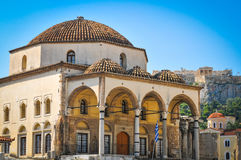 Tzistarakis Mosque in Athens, Greece Stock Images