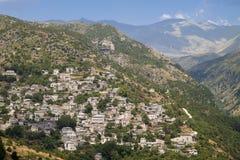 Tzoumerka område i Grekland Arkivfoton