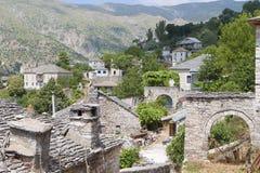 Tzoumerkagebied in Griekenland Royalty-vrije Stock Foto's
