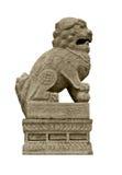 Tzu cinese dello shih del leone del guardiano Immagine Stock