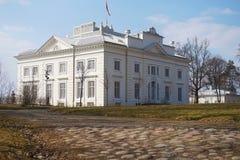 UÅ ¾ utrakis rezydencja ziemska Obraz Royalty Free