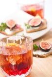 Uísque com soda Fotografia de Stock Royalty Free