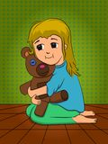 Uściśnięcia dla niedźwiedzia Zdjęcie Royalty Free