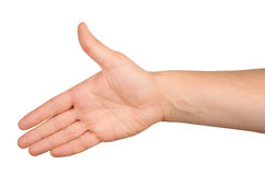 Uścisk dłoni Fotografia Stock