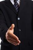 uścisk dłoni biznesmena Fotografia Stock