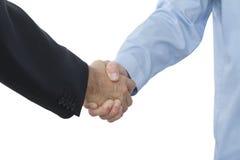 Uścisk dłoni biznesmeni Zdjęcia Royalty Free