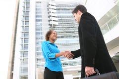 uścisk dłoni biznesowa drużyna Zdjęcia Royalty Free