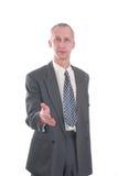 uścisk dłoni biznesowy mężczyzna Zdjęcie Royalty Free