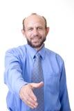uścisk dłoni gotowy zdjęcia stock