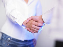 uścisk dłoni handshaking obraz stock