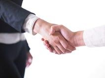 uścisk dłoni handshaking zdjęcia stock