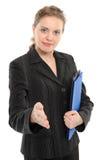uścisk dłoni kobieta Fotografia Royalty Free