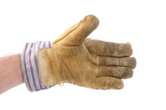 uścisk dłoni ofiary pracownik Zdjęcie Stock