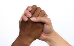Uścisk dłoni przyjaźń Obraz Royalty Free