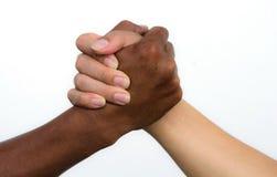 Uścisk dłoni przyjaźń Obraz Stock