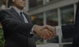 Uścisk dłoni transakci biznesowej zgoda Akceptujący pojęcie zdjęcia stock