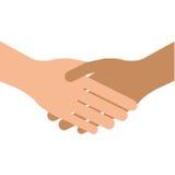 uścisk dłoni wręcza biznesowego powitanie Zdjęcie Royalty Free