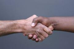 uścisnąć ręki Fotografia Royalty Free